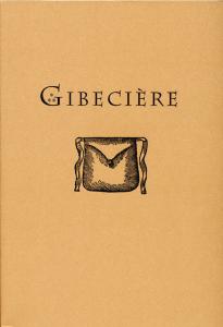 Gibecière Vol. 1, No. 1