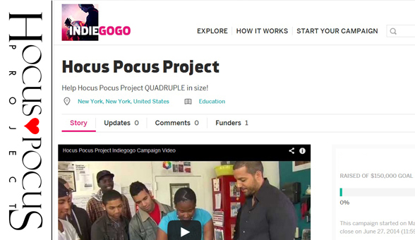 Hocus Pocus Empowers! Your Chance to Help!