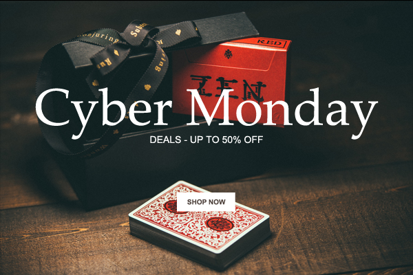Cyber Monday – Up to 50% off!
